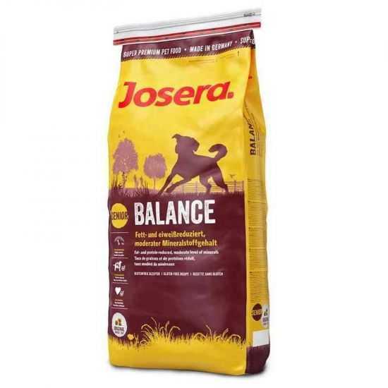 Josera Balance sausas maistas vyresniems, nutūkusiems šunims su paukštiena 15kg