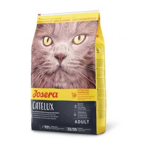 Josera Catelux sausas maistas katėms su antiena 10kg