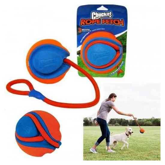 Chuckit! Rope Fetch Dog Toy žaislas šunims tampymui
