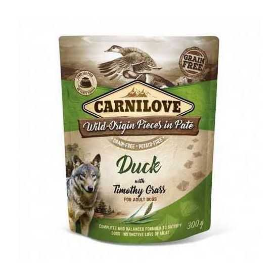 Carnilove konservai šunims Pate Duck with Timothy Grass 300g