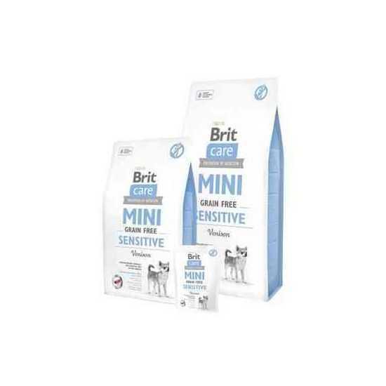 Brit Care Mini Sensitive begrūdis, sausas maistas jautriam virškinimui 2kg, 7kg
