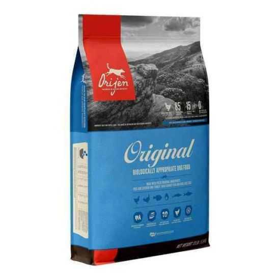 Orijen Original begrūdis sausas maistas šunims 2kg ir 11.4kg