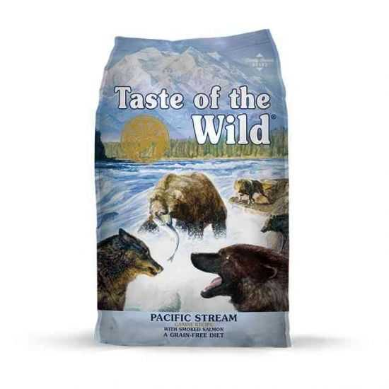 Taste Of The Wild Canine Pacific Stream Begrūdis Sausas Maistas Šunims su lašiša