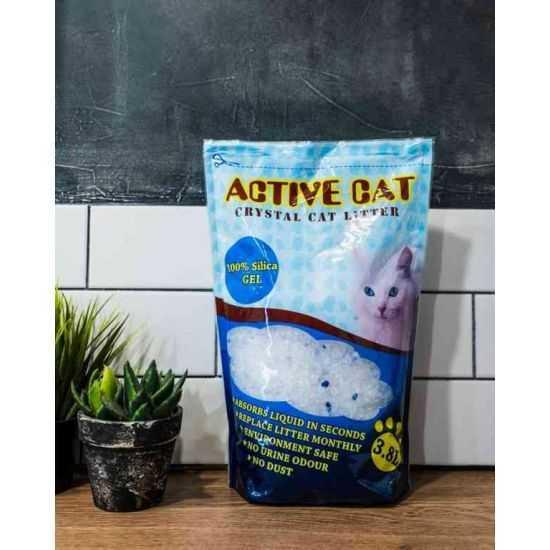 Active Cat Silikoninis Kraikas, dėžė 8vnt po 3.8l