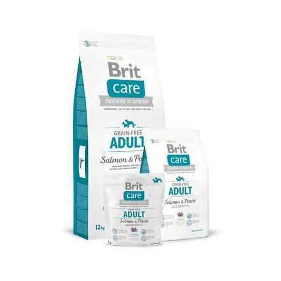 Brit Care Grain-free Adult  Salmon & Potato sausas maistas šunims