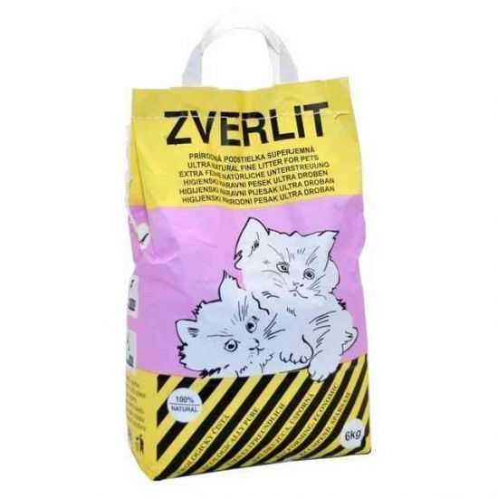 Zverlit Extra smulkus bentonitinis kraikas katėms 6kg