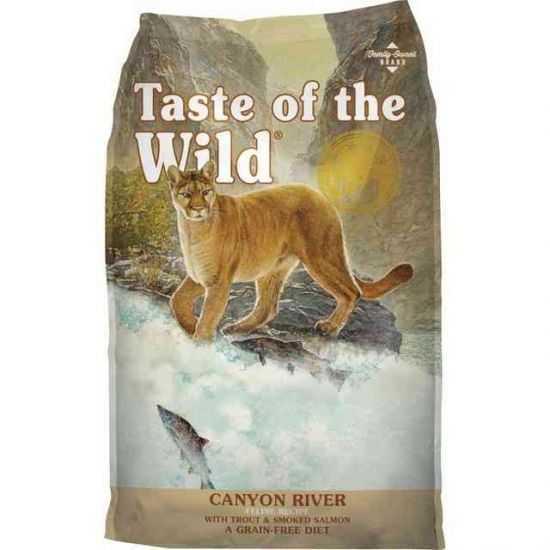 TASTE OF THE WILD CAT (SU UPĖTAKIU IR RŪKYTA LAŠIŠA) 7kg