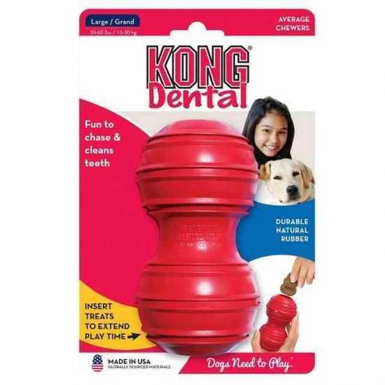 Kong Dental Extra Large žaislas šunims kramtymui L dydžio