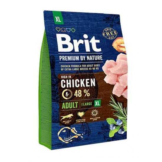 Brit Premium Adult XL sausas maistas didelių veislių šunims 15kg