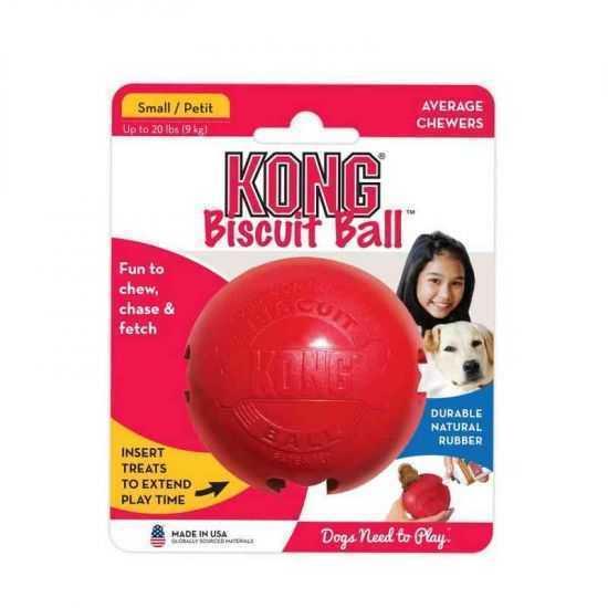 KONG Biscuit Ball L dydis žaislas šunims