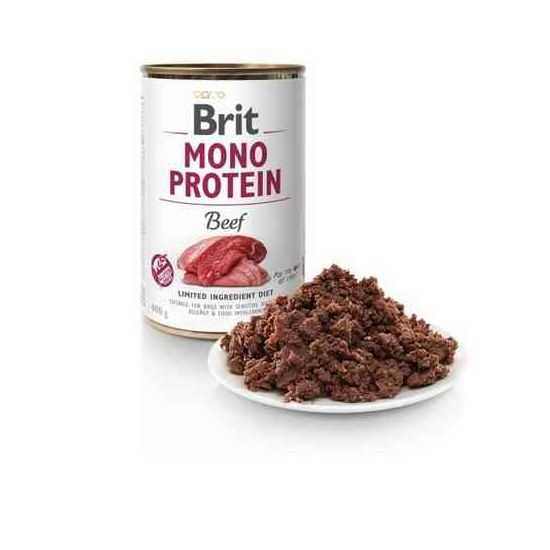 Brit Care Mono Protein Beef konservai šunims su jautiena 400gr