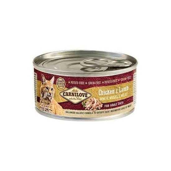 Carni Love Chicken&Lamb konservai katėms su vištiena ir ėriena
