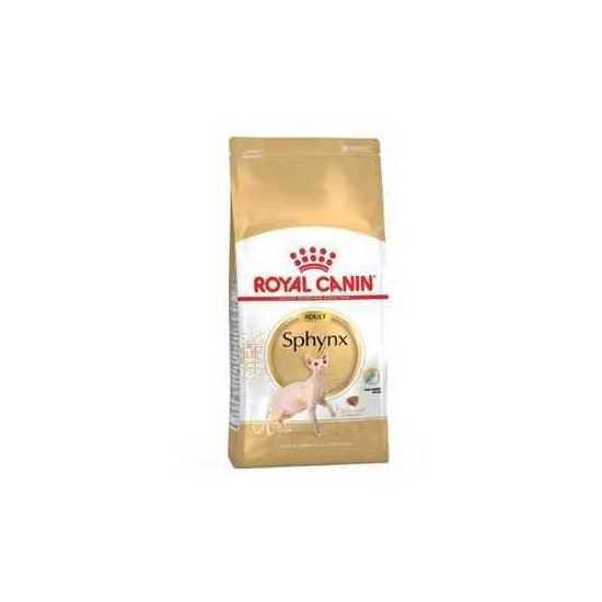 Royal Canin Sphynx sausas maistas sfinkisų veislės katėms 0.4kg 2kg 10kg