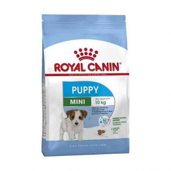 Royal Canin Mini Puppy sausas maistas mažų veislių jauniems šunims 0,8kg, 2kg, 8kg