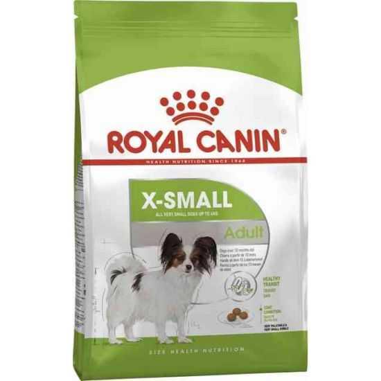 Šunų maistas Royal Canin X-Small Adult 500gr.
