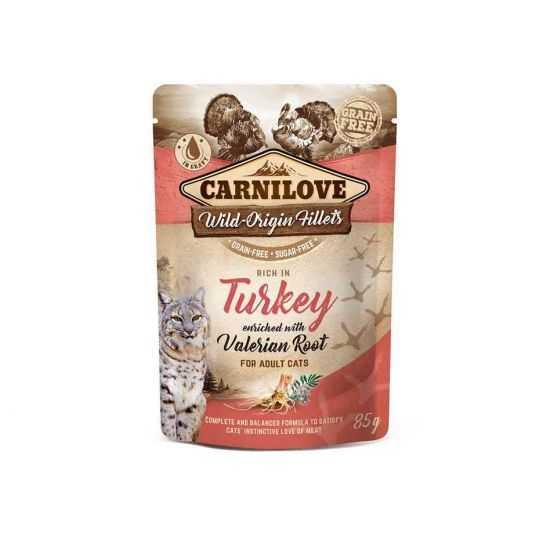 Carnilove konservai katėms Turkey Valeriana 85g