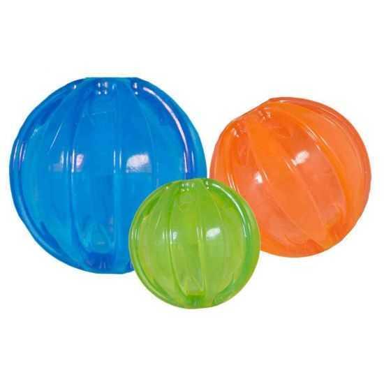 JW cypiantis kamuoliukas S 4,5 cm M 7,5cm