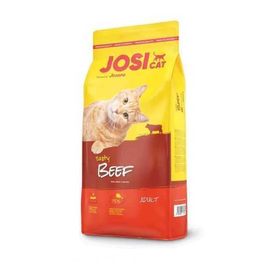 Josera JosiCat Tasty Beef sausas maistas su jautiena katėms 10kg