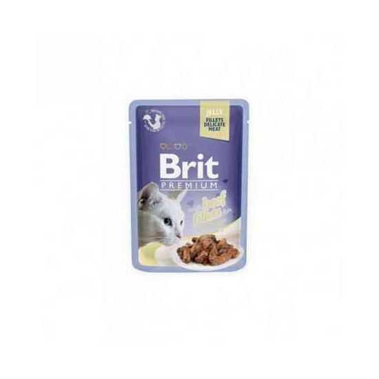 Brit Premium Delicate Beef in Jelly konservai katėms jautienos filė drebučiuose