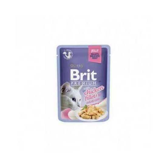 Brit Premium Delicate Chicken in Jelly konservai katėms vištienos filėdrebučiuose