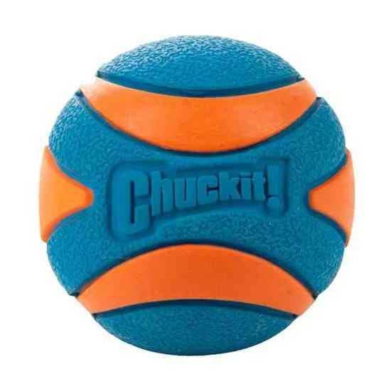 CHUCKIT! ULTRA SQUEAKER BALL, cypiantis kamuoliukas šunims, L