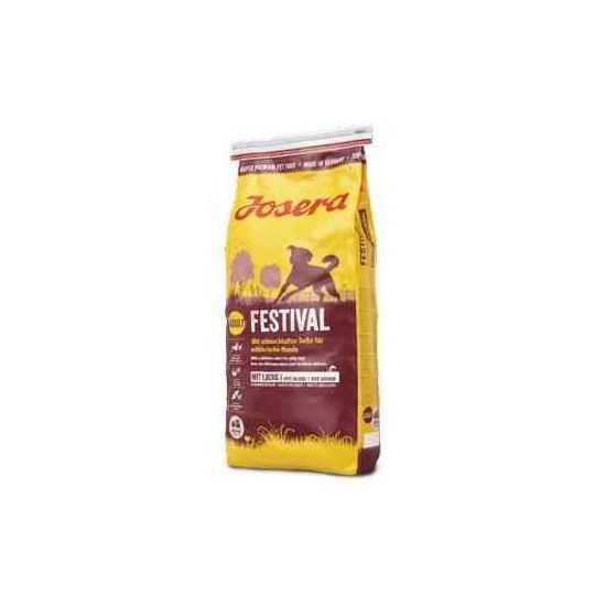 Josera Festival sausas maistas šunims su lašiša ir ryžiais 15kg