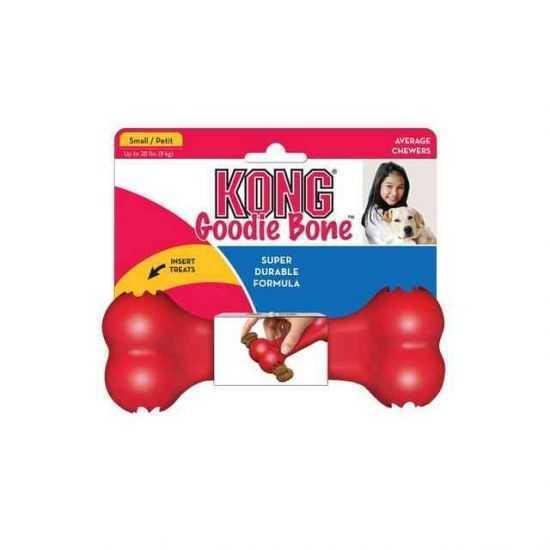 KONG Classic Goodie Bone žaislas šunims, S