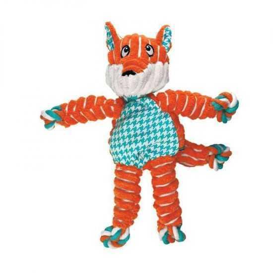Kong Floppy Knots žaislas šunims FOX s/m