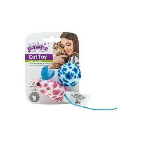 Pawise žaislas katei pelė su kamuoliuku