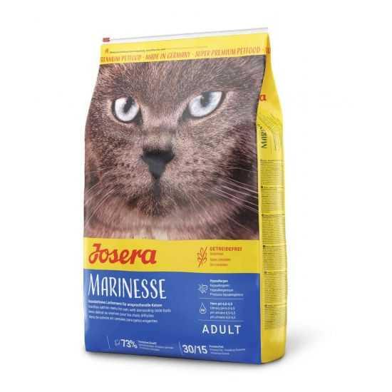 Josera Marinesse begrūdis sausas maistas katėms su lašiša 10kg
