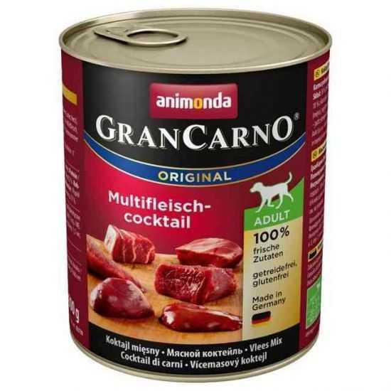 Animonda Gran Carno Adult Konservai Šunims Su Įvairių Rūšių Mėsa 800gr