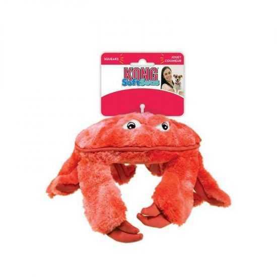 KONG SoftSeas Crab patvarus žaislas šunims