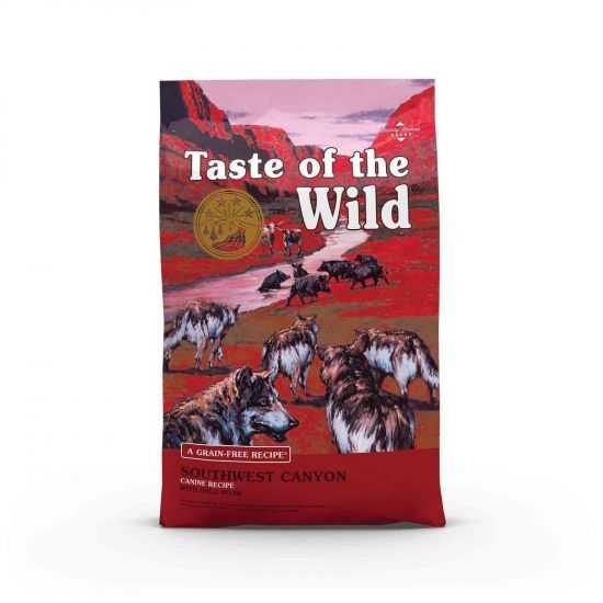 Taste of The Wild Southwest Canyon sausas maistas šunims