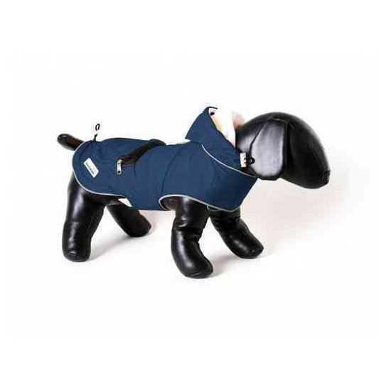 Lietpaltis šunims Doodlebone mėlynas įv. dydžių