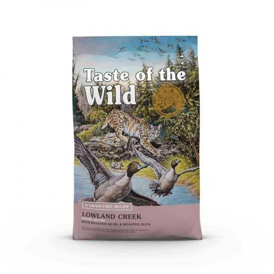 Taste of the Wild sausas maisas katėms Lowland Creek 2kg