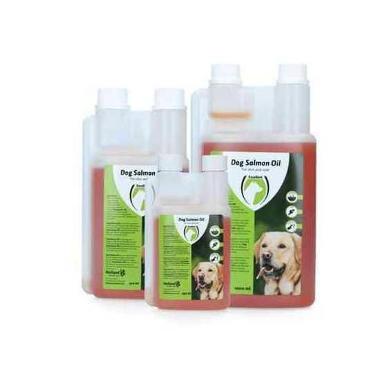 Papildas šunims natūralus lašišų aliejus