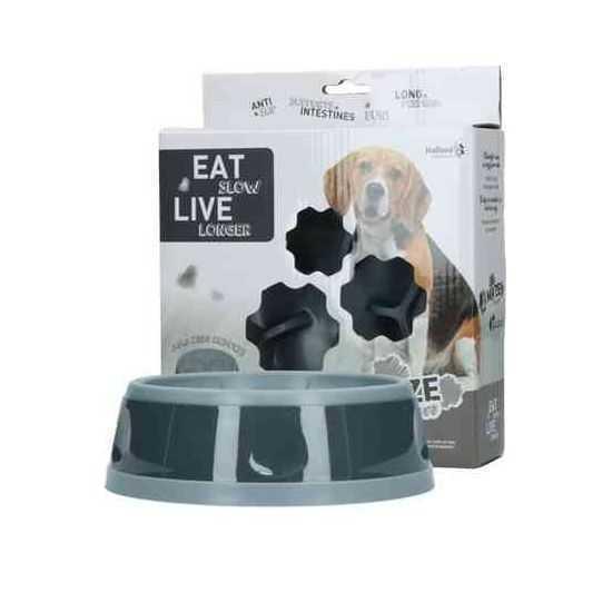 Lėto valgymo dubenėlis Eat Slow Live Longer S, M