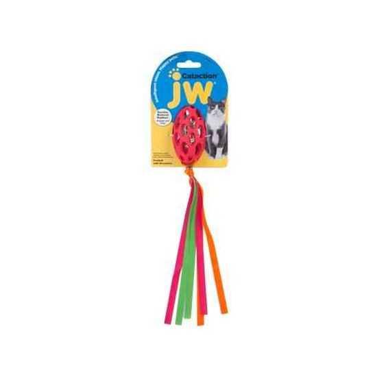 JW Cataction žaislas su kutais ir čežančiu vidumi