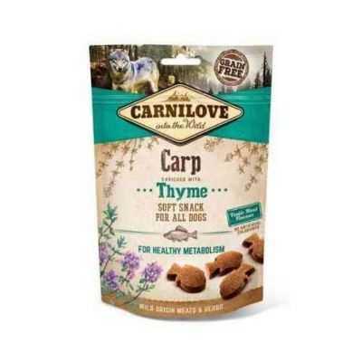Carni Love Carp with Thyme skanėstai šunims sveikam metabolizmui 200gr