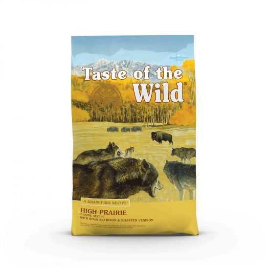 Taste of The Wild High Prairie Adult sausas maistas šunims