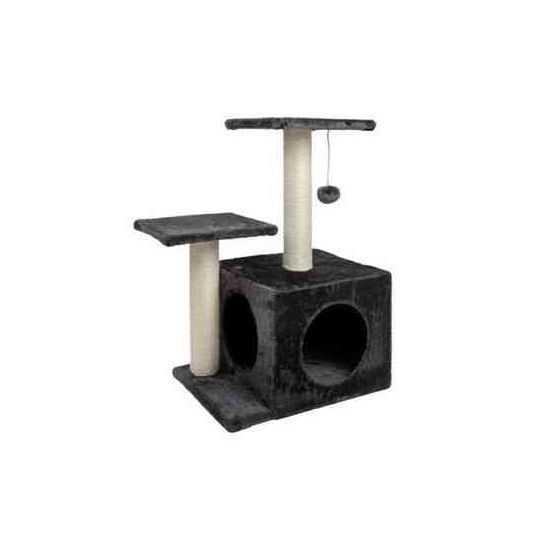 Kačių draskyklė su nameliu ir stebėjimo platformomis