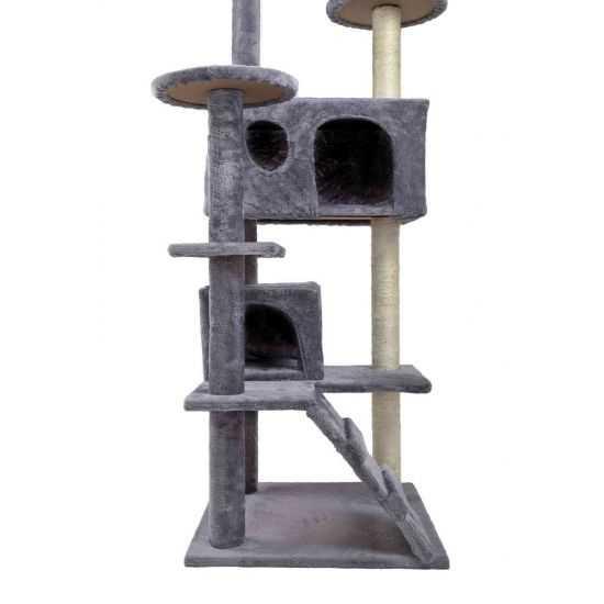 Kačių draskyklė su keliomis platfotmomis 130cm