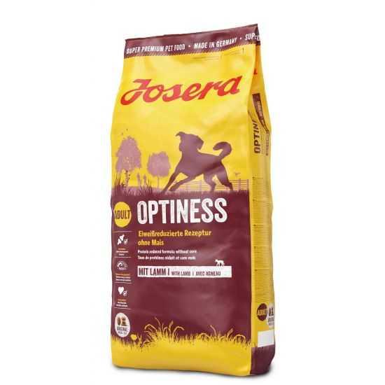 Josera Optiness sausas maistas šunims su ėriena ir bulvėmis 15kg