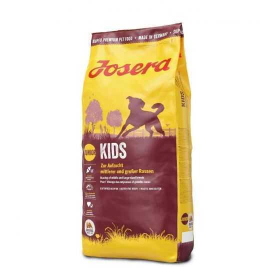 Josera Kids sausas maistas vidutinių ir didelių veislių šuniukams 15kg
