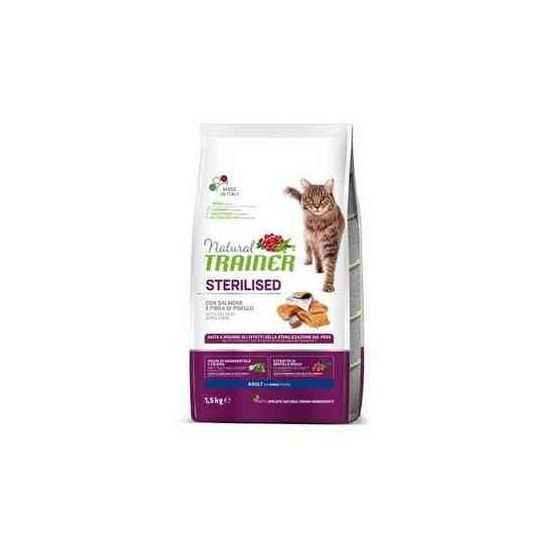 TRAINER NATURAL CAT ADULT SALMON...