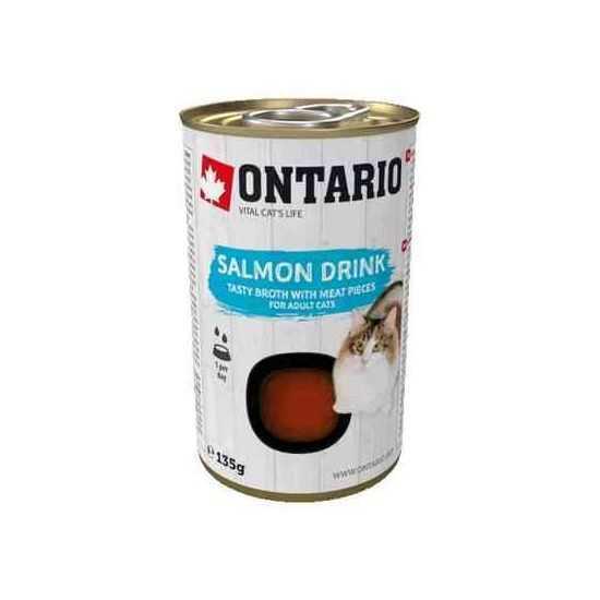 ONTARIO salmon drink - sriuba katėms...