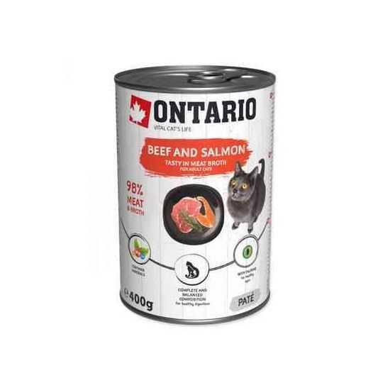 ONTARIO Beef & Salmon Konservai...