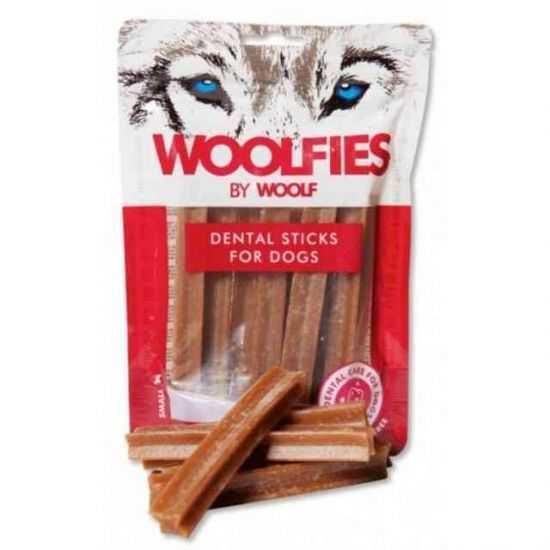 WOOLF WOOLFIES DENTAL STICKS FOR DOGS SKANĖSTAI ŠUNIMS