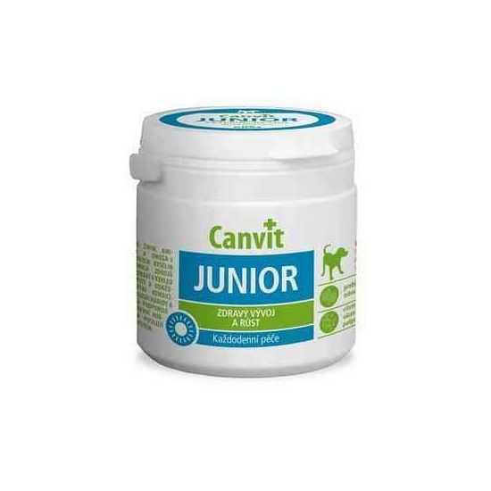 Canvit Junior vitaminai jauniems šunims 100 g