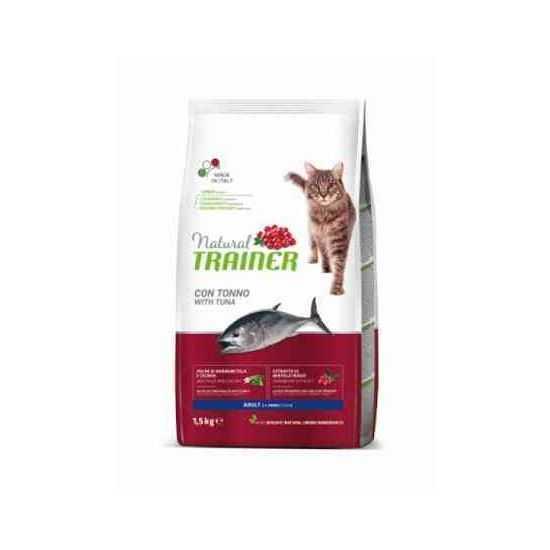 TRAINER NATURAL CAT ADULT TUNA sausas maistas katėms su tunu
